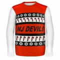 New Jersey Devils NHL Ugly Sweater Wordmark