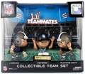 New Orleans Saints Lil Teammates NFL 3-Pack (QB, RB, REF) Collectible Team Set