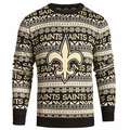 New Orleans Saints NFL 2016 Aztec Ugly Crew Neck Sweaters by Forever Collectibles