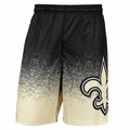 New Orleans Saints NFL 2016 Gradient Polyester Shorts By Forever Collectibles