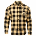 New Orleans Saints NFL Checkered Men's Long Sleeve Flannel Shirt