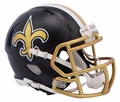 New Orleans Saints Riddell Blaze Alternate Speed Mini Helmet