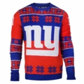 New York Giants Big Logo NFL Ugly Sweater