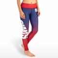 New York Giants (Gradient Print) NFL Leggings
