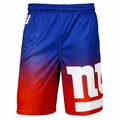 New York Giants NFL 2016 Gradient Polyester Shorts By Forever Collectibles