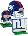 New York Giants NFL 3D BRXLZ Puzzle Set By Forever Collectibles
