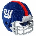 New York Giants NFL 3D Helmet BRXLZ Puzzle By Forever Collectibles