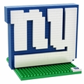 New York Giants NFL 3D Logo BRXLZ Puzzle By Forever Collectibles