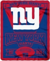New York Giants NFL Fleece Throw Blanket