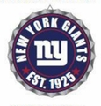 New York Giants NFL Wall Decor Bottlecap Collection by Forever Collectibles