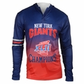 New York Giants Super Bowl XLII Champions Poly Hoody Tee