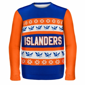 New York Islanders NHL Ugly Sweater Wordmark