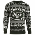 New York Jets NFL 2016 Aztec Ugly Crew Neck Sweaters by Forever Collectibles