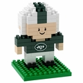 New York Jets NFL 3D Player BRXLZ Puzzle By Forever Collectibles