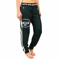 New York Jets NFL Poly Fleece Women's Jogger Pant by Klew