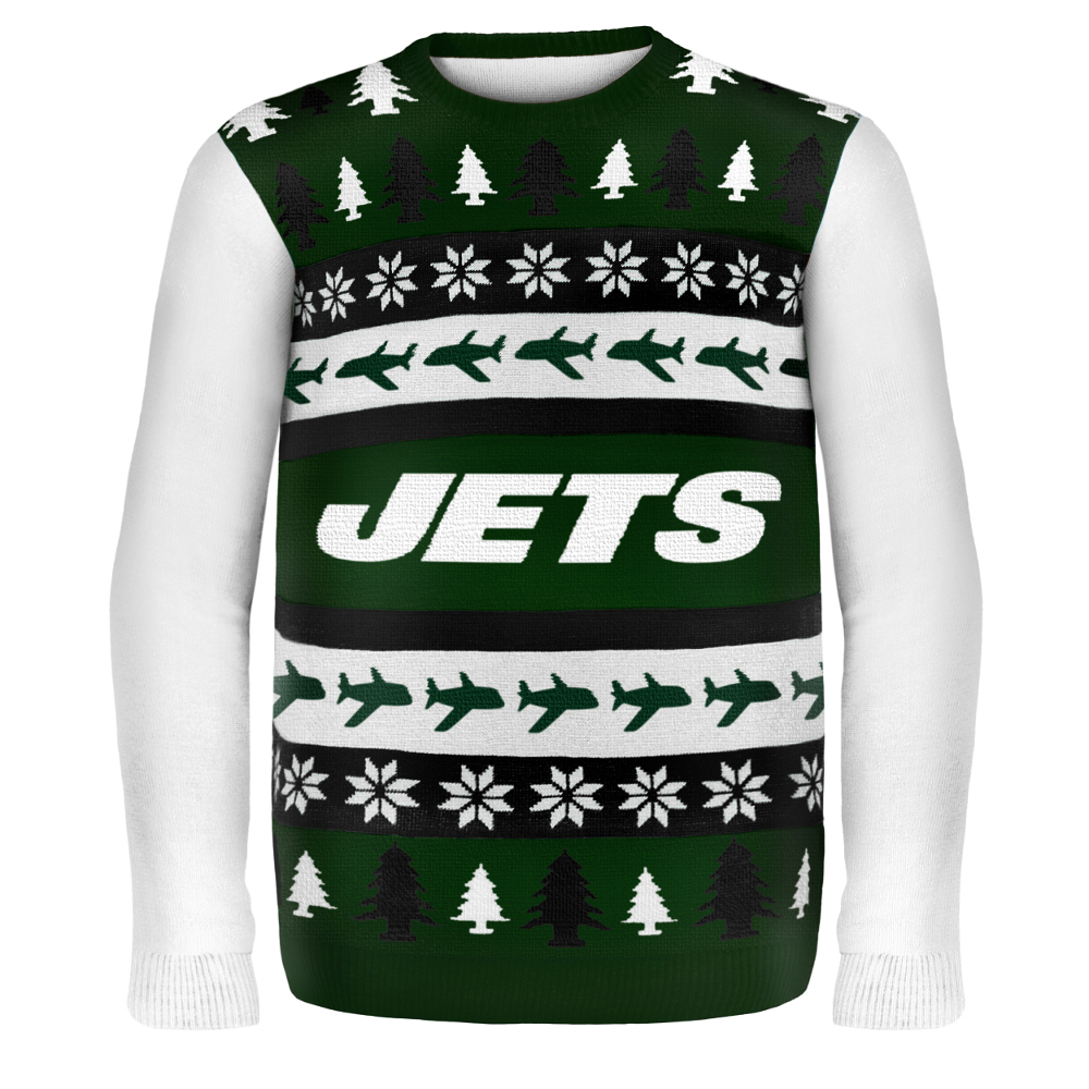 Jets Nfl Ugly Christmas Sweater - Sweater Vest