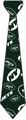 New York Jets NFL Ugly Tie Repeat Logo by Forever Collectibles