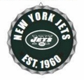New York Jets NFL Wall Decor Bottlecap Collection by Forever Collectibles