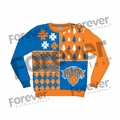 New York Knicks NBA Ugly Sweater BusyBlock