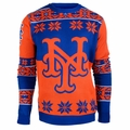 New York Mets Big LogoMLB Ugly Sweater