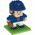 "New York Mets MLB 3D 2"" Player BRXLZ Puzzle By Forever Collectibles"