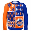 New York Mets MLB Ugly Sweater BusyBlock