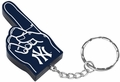 New York Yankees #1 Foam Finger Keychain