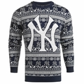 New York Yankees MLB 2016 Aztec Ugly Crew Neck Sweaters by Forever Collectibles