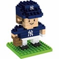 "New York Yankees MLB 3D 2"" Player BRXLZ Puzzle By Forever Collectibles"