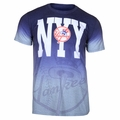 New York Yankees MLB Gray Gradient Tee by Forever Collectibles