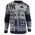 New York Yankees Patches MLB Ugly Sweater by Klew