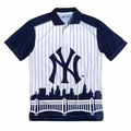 New York Yankees MLB Polyester Short Sleeve Thematic Polo Shirt