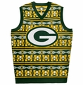 NFL Aztec Men's Ugly Sweater Vests by Klew