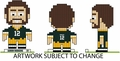 """NFL 3D 4"""" Player Specific BRXLZ Puzzle By Forever Collectibles"""