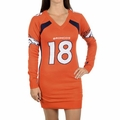 Peyton Manning #18 (Denver Broncos) Player NFL Sweater Dress