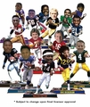 Forever Collectibles 2016 NFL Legends Bobble Heads