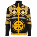 NFL Split Logo Full Zip Sweater Jackets by Klew