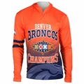NFL Super Bowl Champions Lightweight Poly Hoodies by Klew