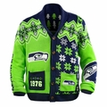 NFL Team Cardigan Ugly Sweaters by Forever Collectibles