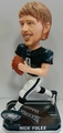 Nick Foles (Philadelphia Eagles) Forever Collectibles 2014 NFL Springy Logo Base Bobblehead
