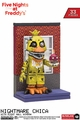 Nightmare Chica w/ Right Hall Window (Five Nights At Freddy's) Micro Set McFarlane Construction Set Series 2