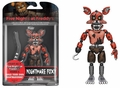 """Nightmare Foxy (Five Nights at Freddy's) 5"""" Action Figure by Funko"""