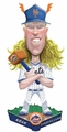 Noah Syndergaard (New York Mets) 2017 MLB Caricature Bobble Head by Forever Collectibles