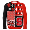 North Carolina State Ugly College Sweater BusyBlock