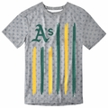 Oakland Athletics Big Logo Flag Tee by Forever Collectibles
