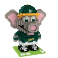 Oakland Athletics MLB 3D Mascot BRXLZ Puzzle By Forever Collectibles