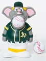 Oakland Athletics MLB Squeeze Popper Mascot