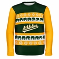 Oakland Athletics MLB Ugly Sweater Wordmark