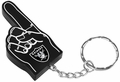 Oakland Raiders #1 Foam Finger Keychain
