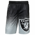 Oakland Raiders NFL 2016 Gradient Polyester Shorts By Forever Collectibles